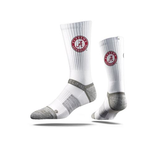 Picture of Alabama Sock Bama White Crew Premium Reg