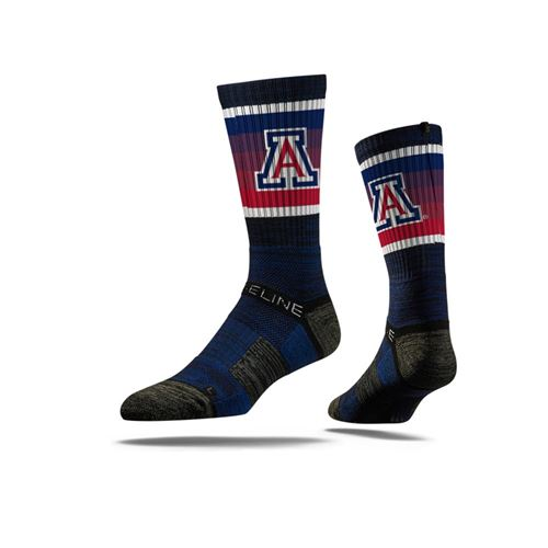 Picture of Arizona Sock Navy Wildcat Crew Premium Reg