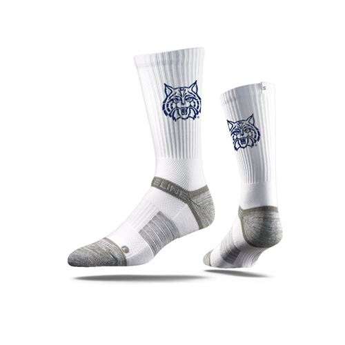 Picture of Arizona Sock Wilbur White Crew Premium Reg