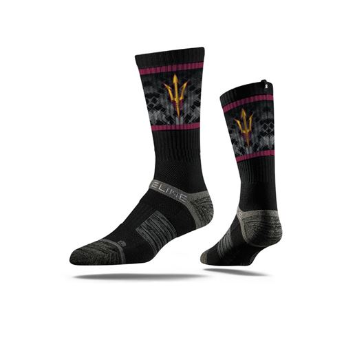 Picture of Arizona State Sock Black Devil Crew Premium Reg