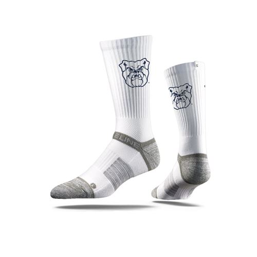 Picture of Butler Sock White Indi Crew Premium Reg