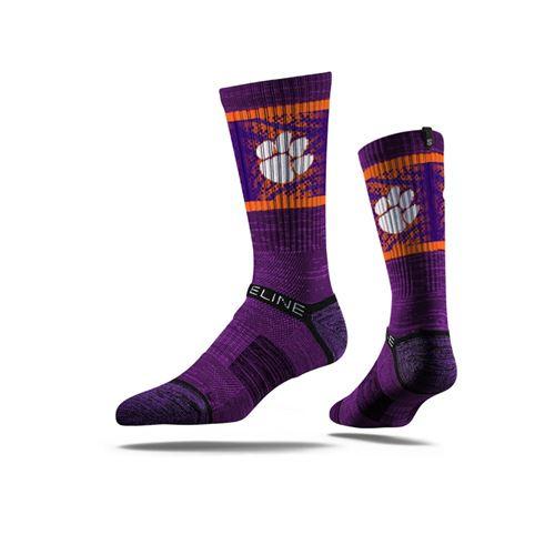 Picture of Clemson Sock Regalia Crew Premium Reg