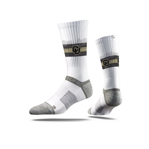 Picture of Colorado Sock White Buffalo Crew Premium Reg
