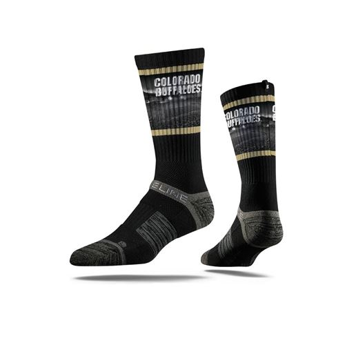 Picture of Colorado Sock Folsom Black Crew Premium Reg