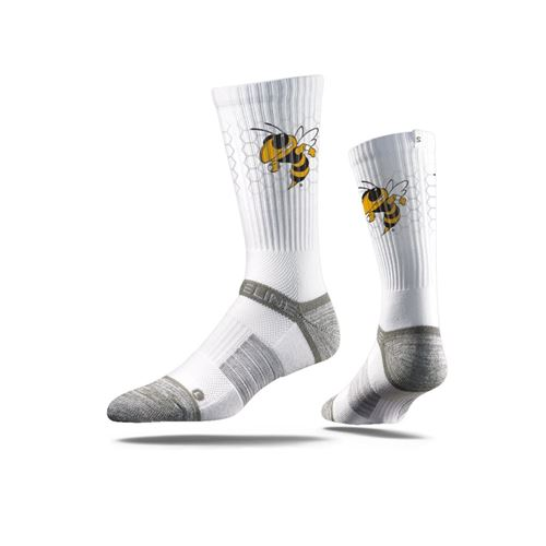 Picture of Georgia Tech Sock ATL White Crew Premium Reg