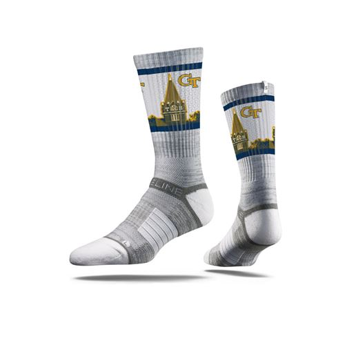 Picture of Georgia Tech Sock YJ Slate Crew Premium Reg