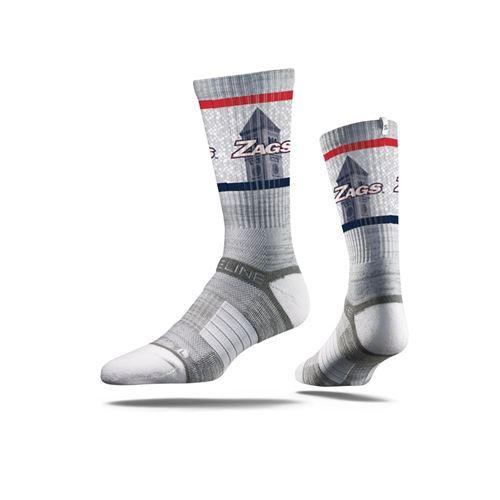 Picture of Gonzaga Sock Spokane Slate Crew Premium Reg