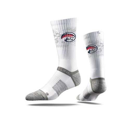 Picture of Houston Sock White Cougar Crew Premium Reg