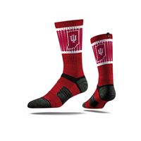 Picture of Indiana Sock Hoosier Crimson Crew Premium Reg