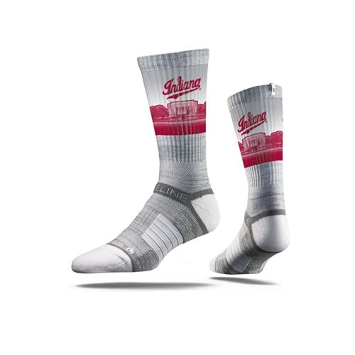 Picture of Indiana Sock Bloomington Grey Crew Premium Reg