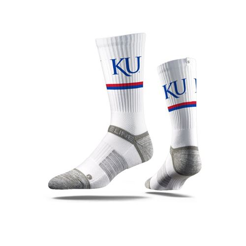 Picture of Kansas Sock Rock Chalk Crew Premium Reg