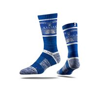 Picture of Kansas Sock Fieldhouse Blue Crew Premium Reg