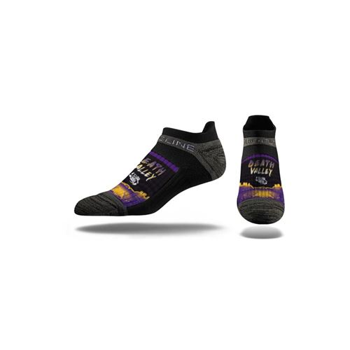 Picture of LSU Sock Death Valley Shade No Show Premium Reg