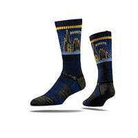 Picture of Marquette Sock Gold Sky Crew Premium Reg