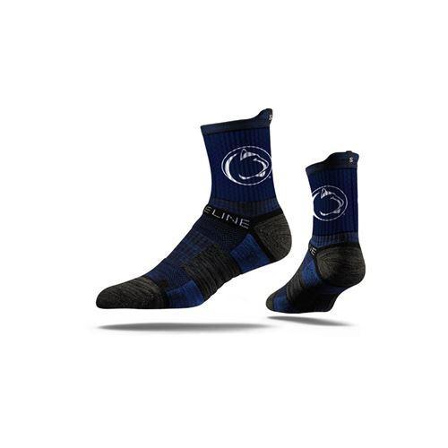 Picture of Penn State Sock University Blue Mid Premium Reg