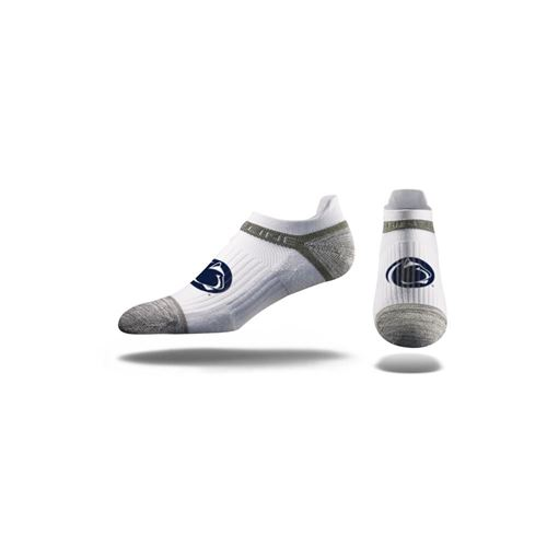 Picture of Penn State Sock Nittany White No Show Premium Reg
