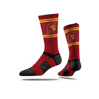 Picture of USC Sock Los Angeles Cardinal Crew Premium Reg