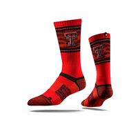 Picture of Texas Tech Sock Raider Red Crew Premium Reg