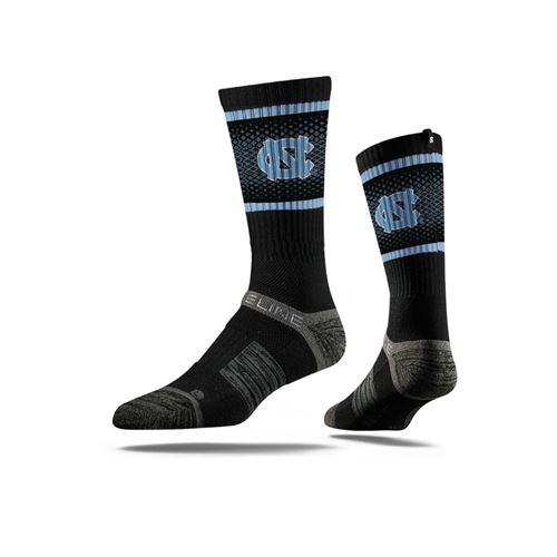Picture of North Carolina Sock Black Tarheel Crew Premium Reg