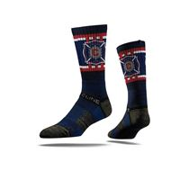 Picture of Chicago Fire Sock Navy Fire Crew Premium Reg