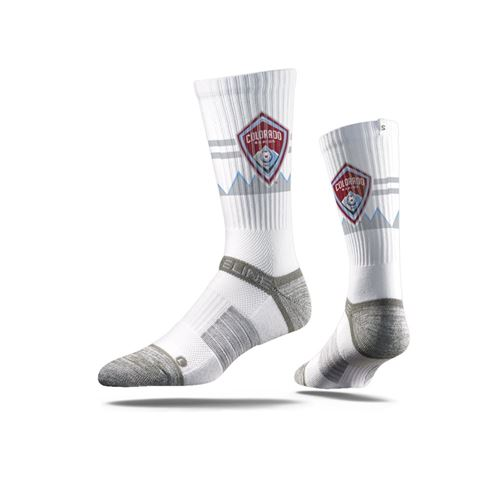 Picture of Colorado Rapids Sock White Crew Premium Reg