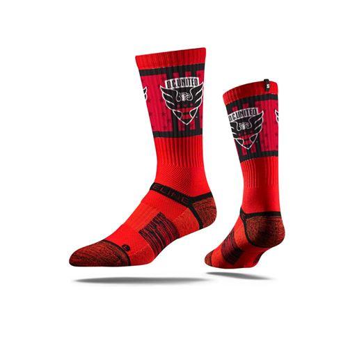 Picture of D.C. United Sock Red Hawk Crew Premium Reg