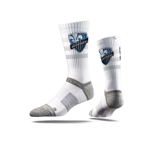 Picture of Montreal Impact Sock Sport White Crew Premium Reg