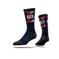 Picture of New England Revolution Sock Navy Crew Premium Reg