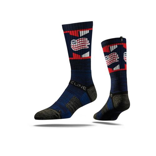 Picture of New England Revolution Sock Navy Crew Premium Reg