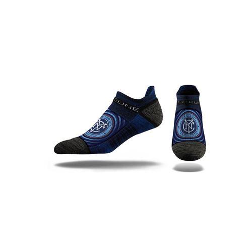 Picture of New York City FC Sock Navy Warp No Show Premium Reg