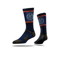 Picture of New York City FC Sock Navy Warp Crew Premium Reg
