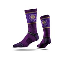 Picture of Orlando City SC Sock Purple Stripe Crew Premium Reg