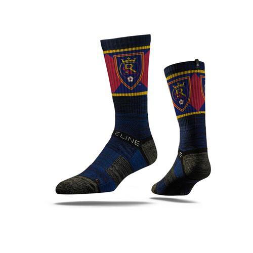 Picture of Real Salt Lake Sock Navy Cross Crew Premium Reg
