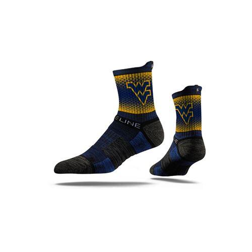Picture of West Virginia Sock Blue Fade Mid Premium Reg