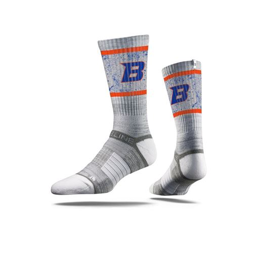 Picture of Boise State Sock Grey State Crew Premium Reg