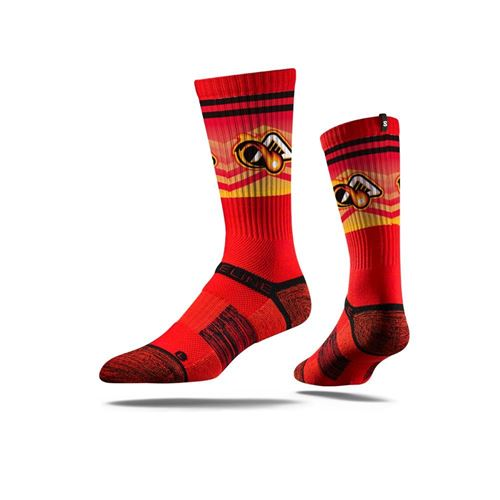Picture of Atlanta Blaze Sock Red Blaze Crew Premium Reg