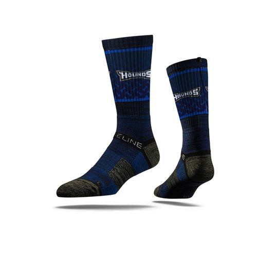 Picture of Charlotte Hounds Sock Navy Hounds Crew Premium Reg