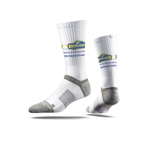 Picture of Florida Launch Sock Sport White Crew Premium Reg