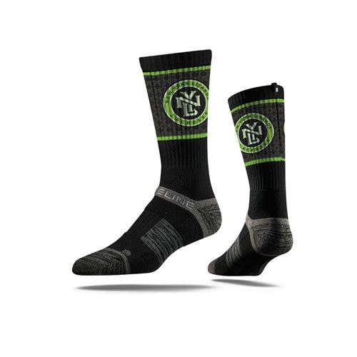 Picture of New York Lizards Sock Black Scale Crew Premium Reg