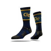 Picture of Georgia Tech Sock GT Navy Crew Premium Reg