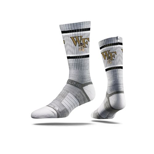Picture of Wake Forest Sock Silver Demon Crew Premium Reg