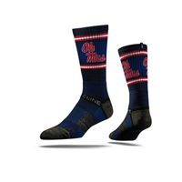 Picture of Mississippi Sock Navy Rebels Crew Premium Reg