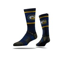 Picture of UC Davis Sock Gunrock Aggie Blue Crew Premium Reg