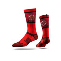 Picture of University of Louisiana at Lafayette Sock Ragin' Red Premium Reg