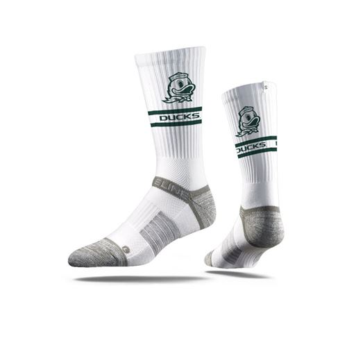 Picture of Oregon Sock White Duck Crew Premium Reg