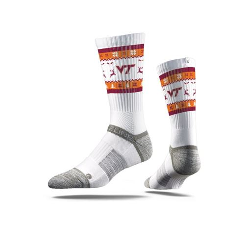 Picture of Ugly Sweater, Virginia Tech White, Strapped Fit 2.0