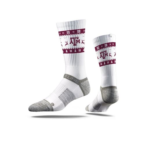 Picture of Ugly Sweater, Texas A&M White, Strapped Fit 2.0