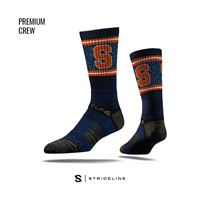 Picture of Syracuse Sock Syracuse Blue Crew Premium Reg