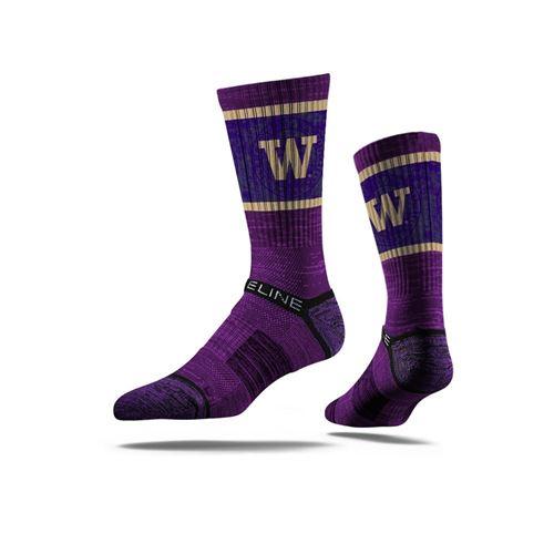 Picture of Washington Sock Purple Pride Crew Premium