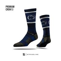 Picture of Penn State Sock University Blue Crew Premium Reg